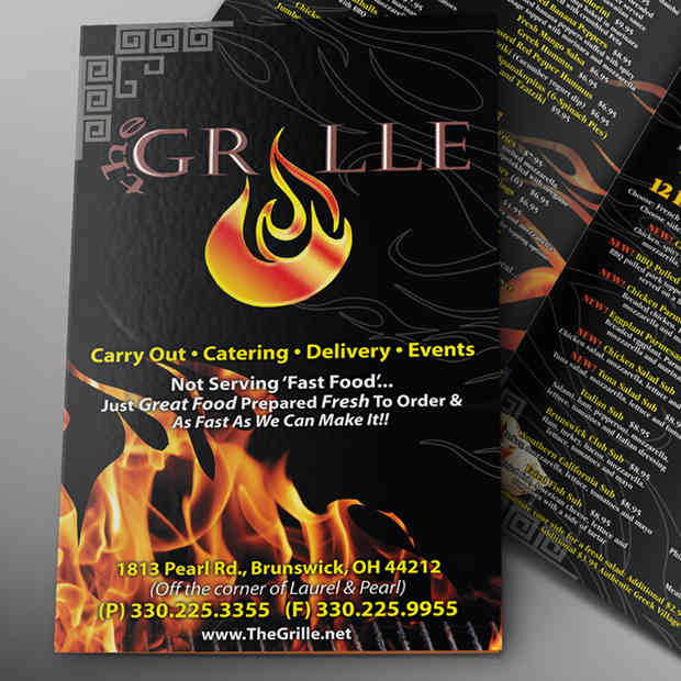 The Grille Re- Branding & Marketing Asset Design © TheGrille