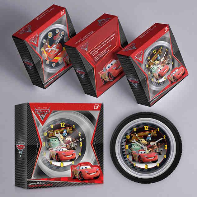 Tire Wall Clock-© Cars-Disney