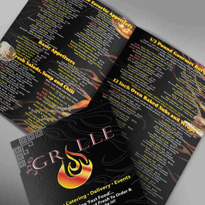Menu Design & Layout