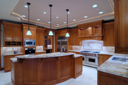 kitchen bow island
