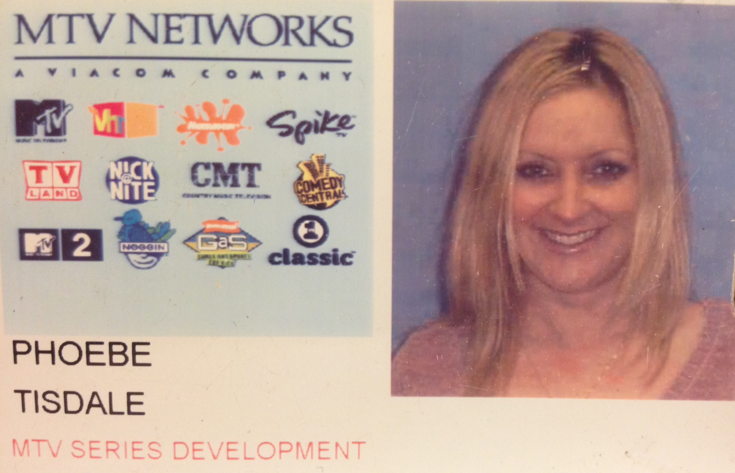 MTV Networks Credentials