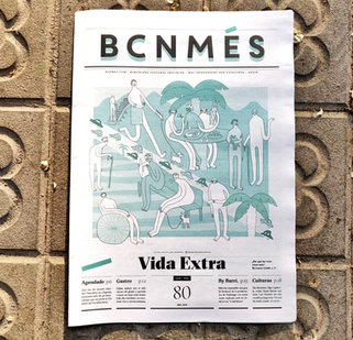 Cover Illustration for BCNMES