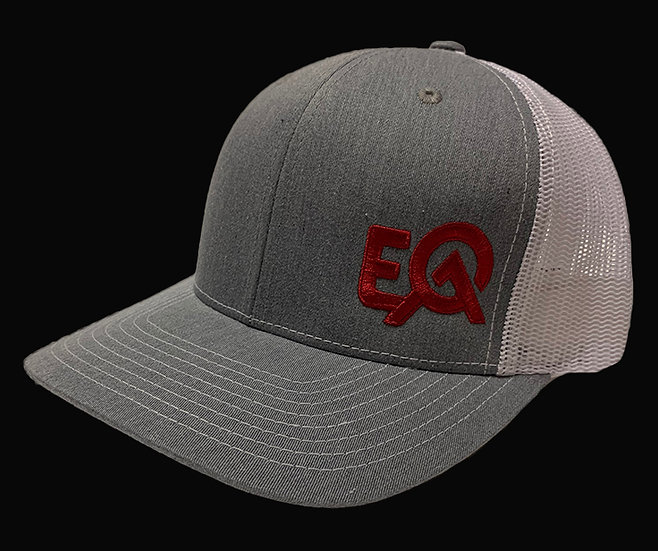 EOA Grey and White w/ Red Logo