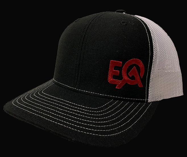 EOA Black and White w/ Red Logo