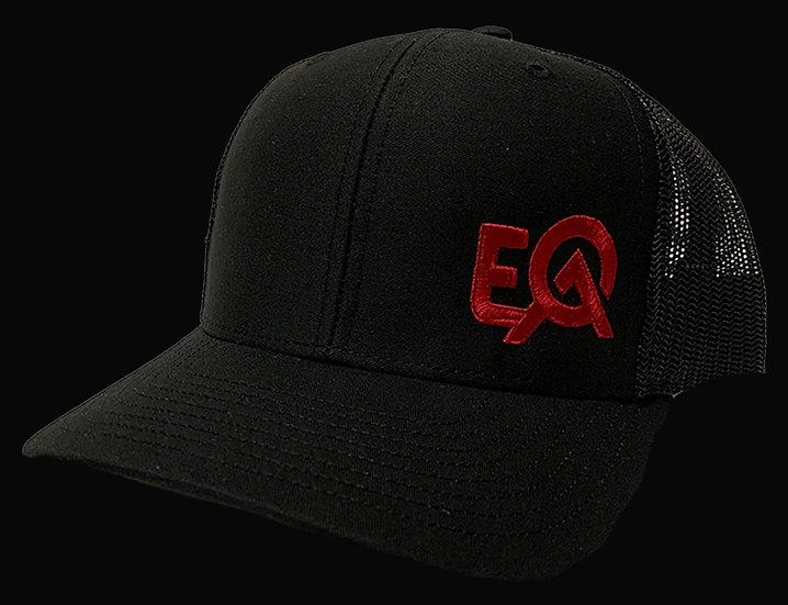 EOA Black w/ Blood Red Logo
