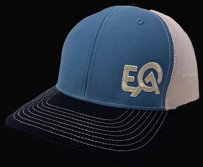 EOA Royal Blue Navy and White w/ White Logo
