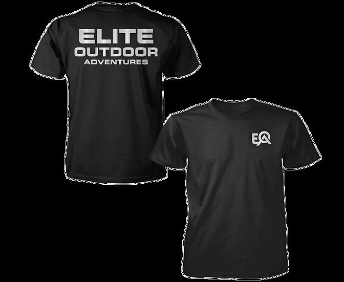 EOA Black Reflective Logo T-Shirt