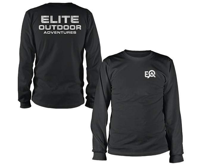 EOA Nightshade Reflective Logo Long Sleeve Shirt