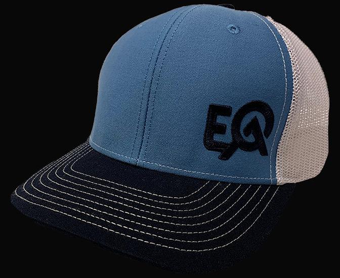 EOA Royal Blue Navy and White w/ Navy Logo