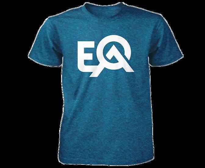EOA Electric Blue Logo T-Shirt