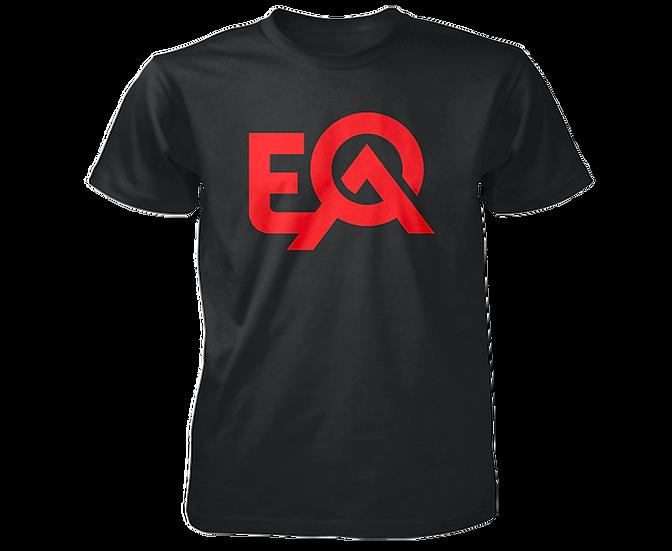EOA Black & Blood Red Logo T-Shirt