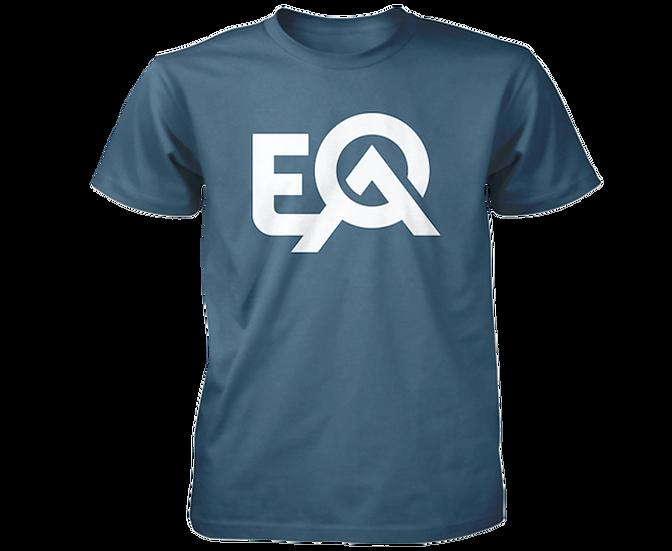 EOA Air Force Blue Logo T-Shirt