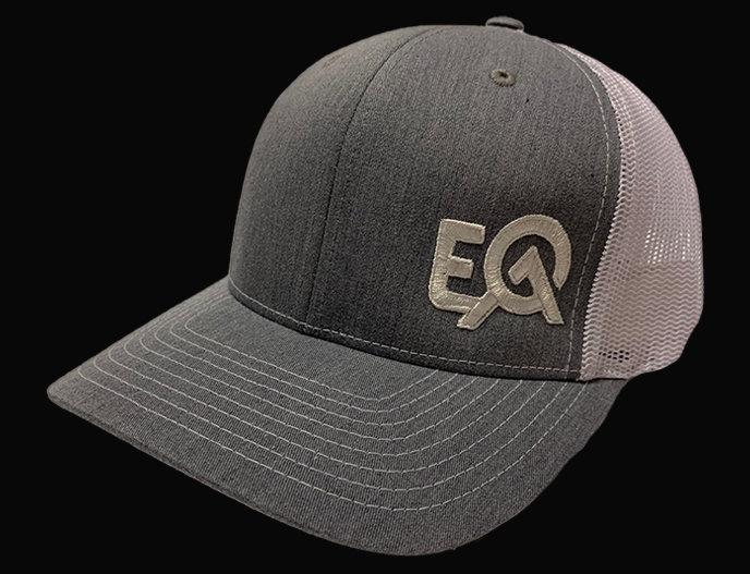 EOA Grey and White w/ White Logo