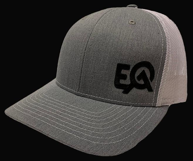 EOA Grey and White w/ Black Logo