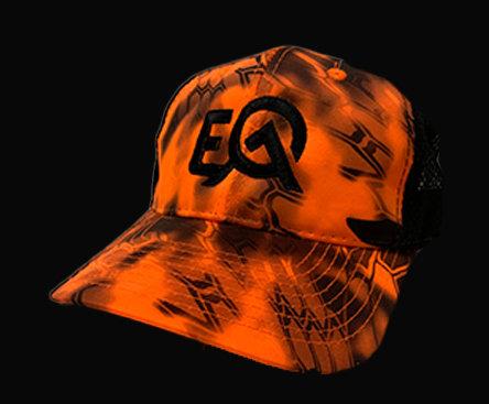 EOA Orange Camo Hunting Cap
