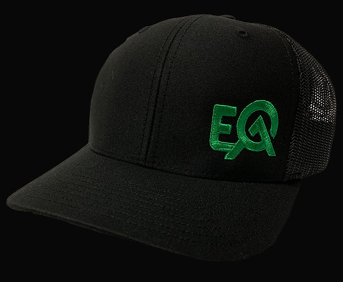 EOA Black w/ Electric Green Logo