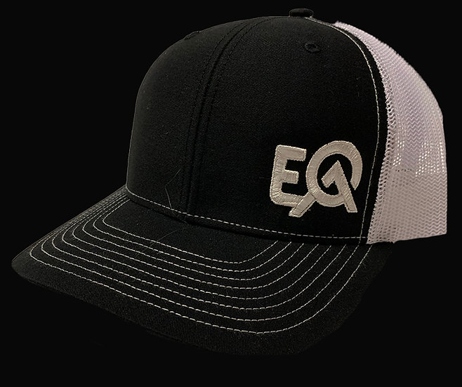 EOA Black and White w/ White logo