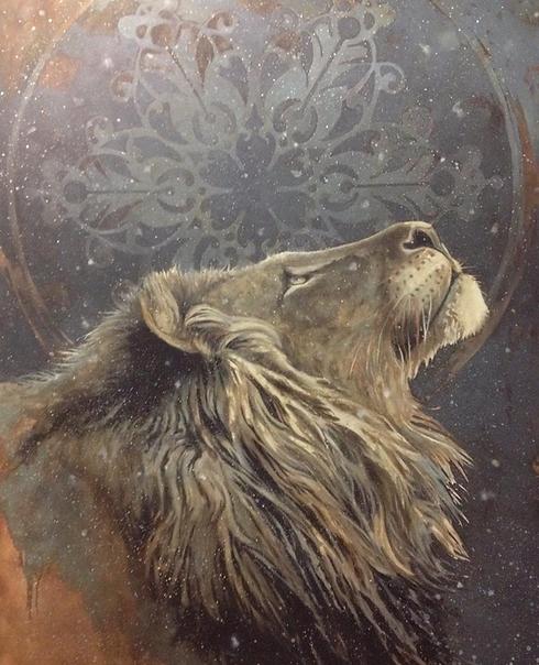 Lion by Artist Mike Soloman