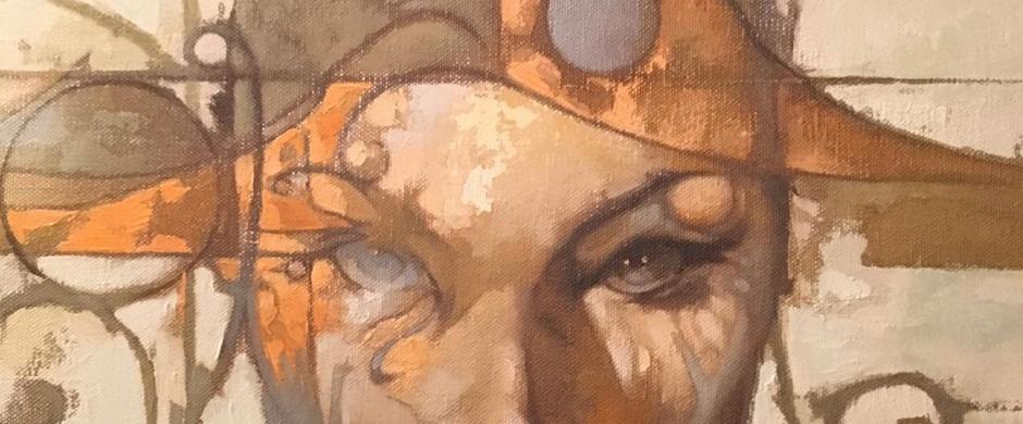 Eyes by Artist Mike Soloman