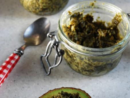 Tartare d'algues - riche en protéines