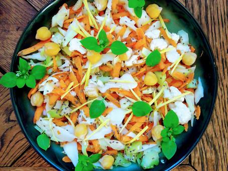 Salade vitaminée pour garder la forme en hiver