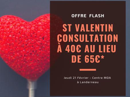 Offre Flash - St Valentin