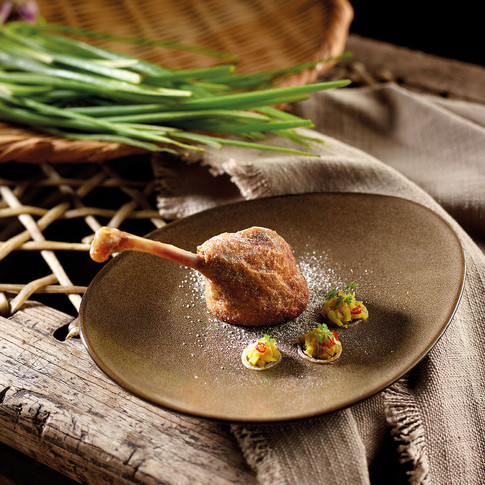 Salted Vegetable Duck Confit