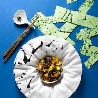 Truffle Dashi Braised Live Korean Abalone