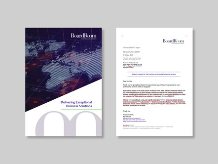 Project 06 - Sales Proposal Template