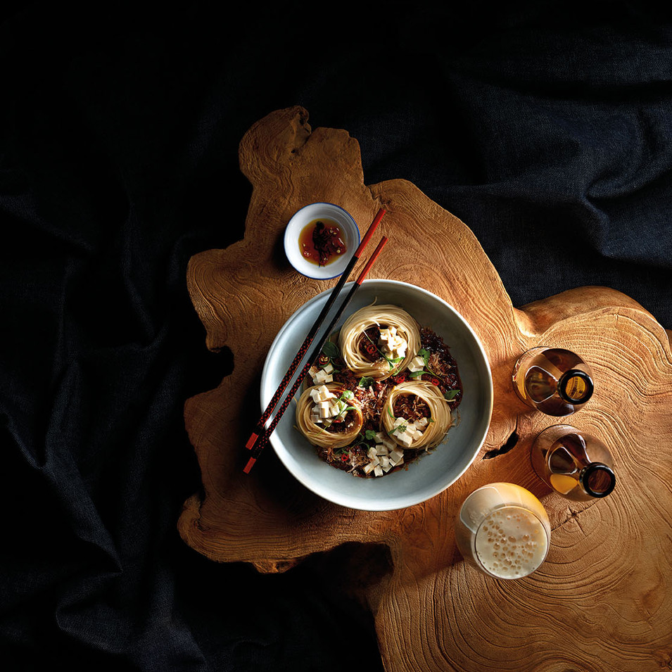Zha Jiang-Style Cold Buckwheat Noodles