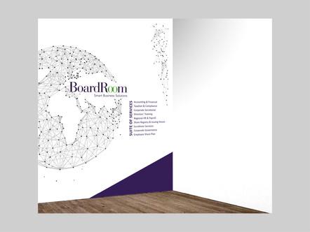 Project 05 - BoardRoom Malaysia Reception Wall Mural Design (right)