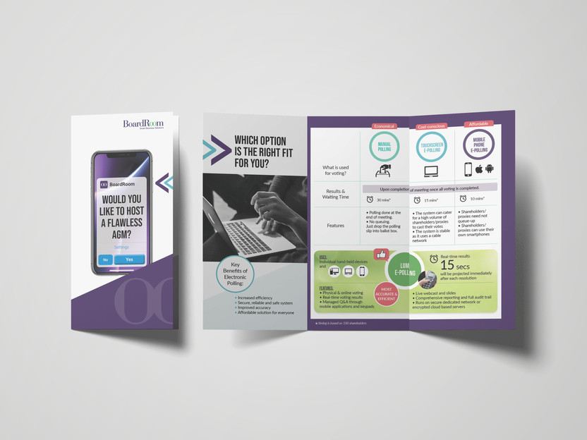 Project 04 - SRS e-polling Brochure