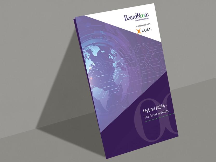 Project 03 - BoardRoom Lumi Hybrid AGM A5 Brochure