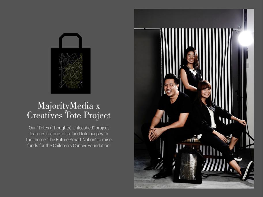Majority Media x  Creatives Tote Project