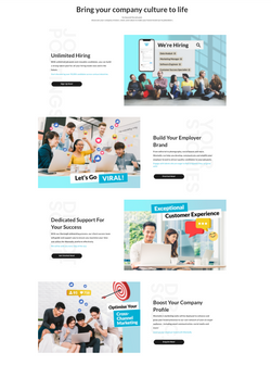 Wantedly B2B website revamped