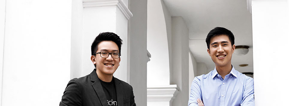 Johnbosco Ng and Jonathan Lee, Founder of Packnada