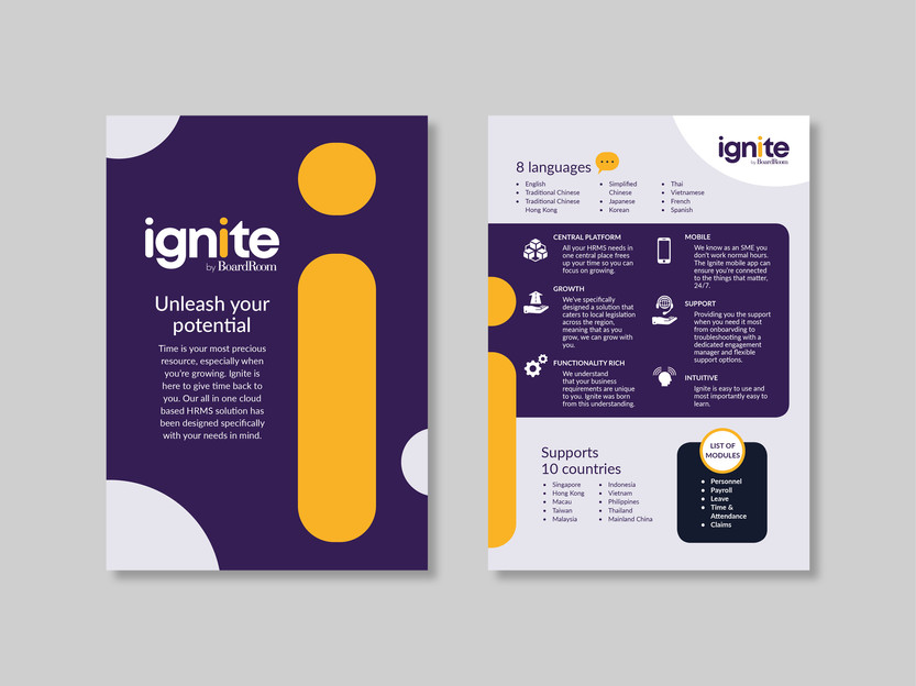 Project 01 - Ignite SaaS Flyer
