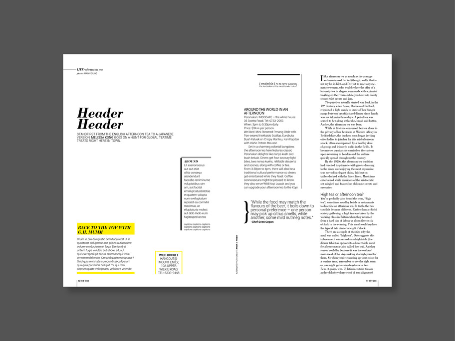 Editorial Template