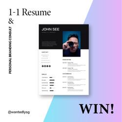 WIN resume&personal branding consult