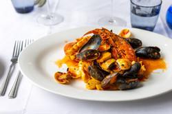 Seafood Linguine at Al Molo