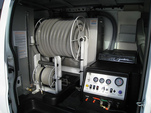 Truck Mounted Carpet Cleaning System