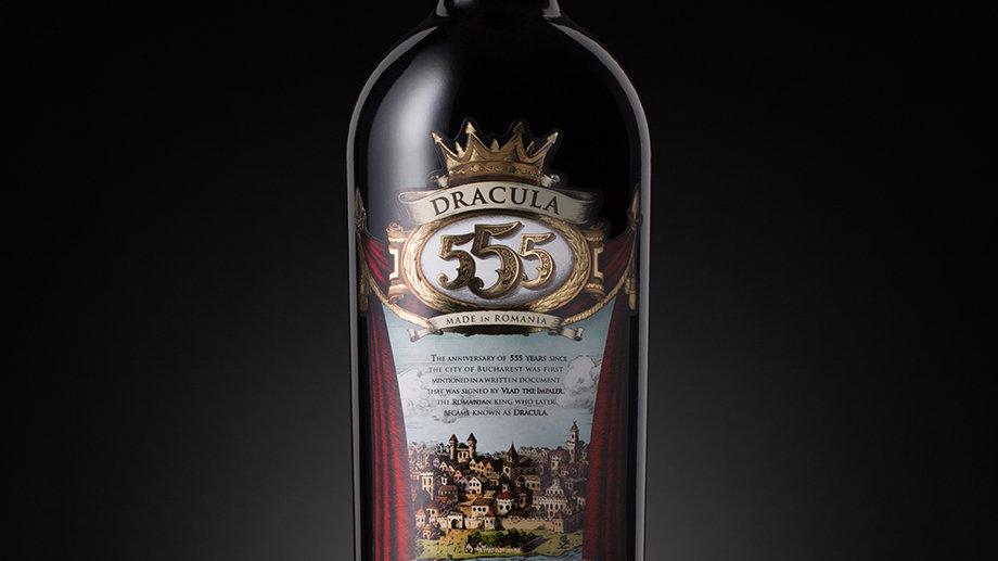 Legendary Dracula 555 Feteasca Neagra Red Wine 2013