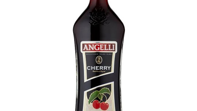 Angelli Cherry Flavoured Wine Made from Grape Juice 0,75 l