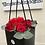 Thumbnail: Black box roses bouquet