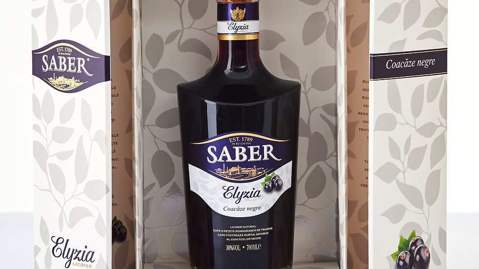 Saber blueberries liquor