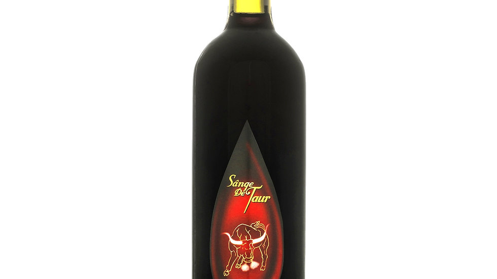 Sangers de Taur Sweet red wine 10% 0.75L (Moldova)