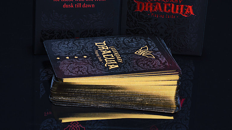 Legendary Dracula Playing Cards