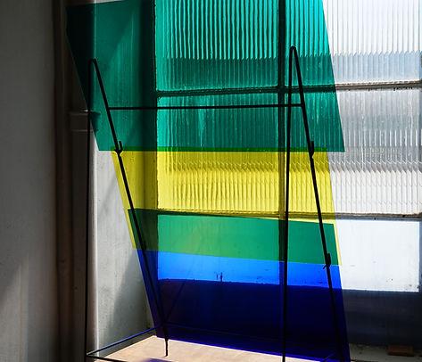 Farbglas