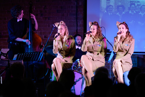 An Andrews Sisters Tribute