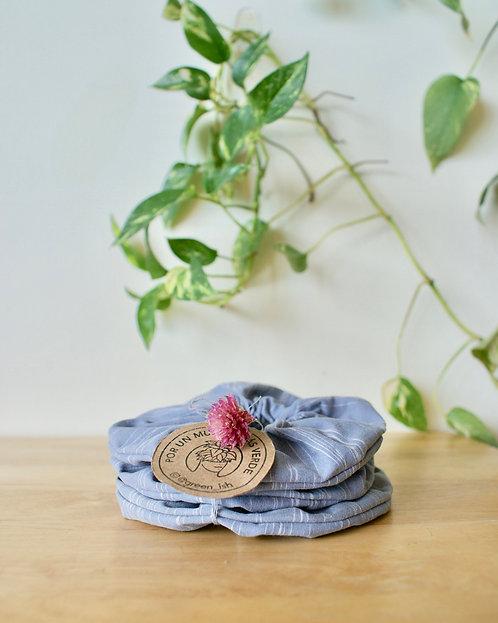 Eco scrunchie set #3
